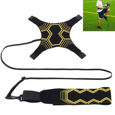 UK STOCK Kick Soccer Football Trainer Training Aid Practice Sport Equipment New
