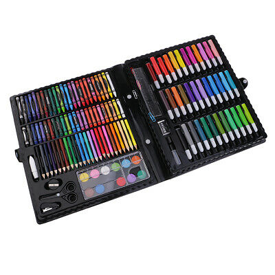 150pcs Kids Drawing Set Art Supplies Paints Colouring Pencils Crayons Marker