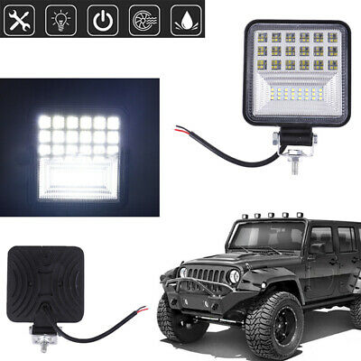 4 Inch 126W LED Work Light Bar Flood Spot Combo Driving Lamp Car Offroad Tr IY