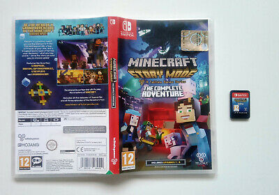Nintendo Switch Minecraft Story Mode The Complete Adventure (episodes 1-8)