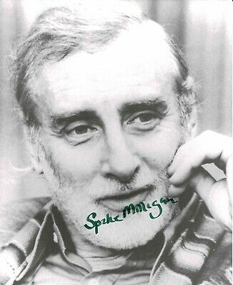 Spike Milligan Signed 10 X 8 Photo