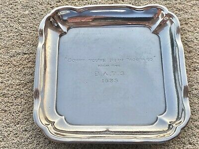 Sterling Silver Pin Dish - William Comyns & Sons - London - 1904