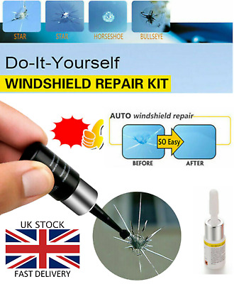 Automotive Glass Nano Repair Fluid Glass Crack Chip Repair Kit 2020