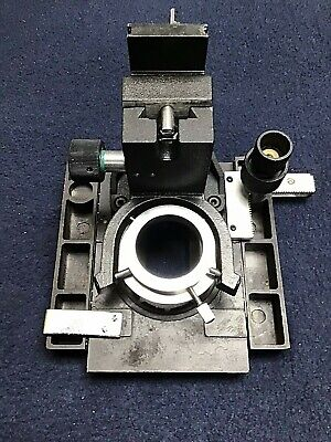 Southern Precision XY Stage  With Lens for Model #1862 Microscope- Used