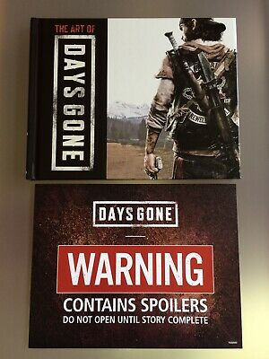 Days Gone PS4 Art Book, Brand NEW Collectors Edition The Art of Days Gone...