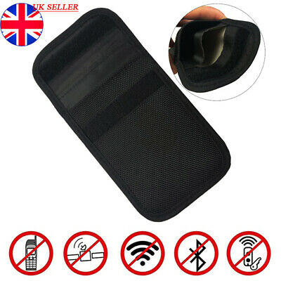 Keyless Entry Car Key Fob Signal Blocker Guard Case Faraday Bag Pouch Security