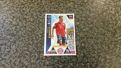 Match Attax Ucl 2018/19 No-430 Joshua Kimmich Hundred Club Xl Mint