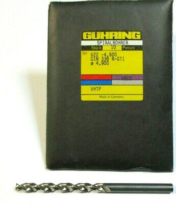 #53 Guhring Powdered Metal GT500 Firex Jobber Drill Style 530 130°Point .0595/""
