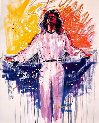 YANNI The Experience Autographed Limited Edition Lithograph
