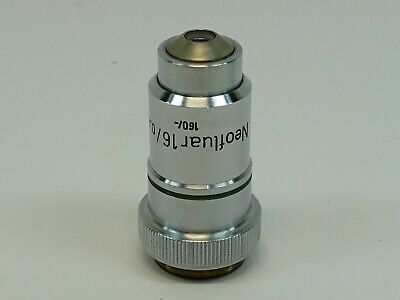 Zeiss Neofluar 16X/0.40 160/- Microscope Objective; excellent condition