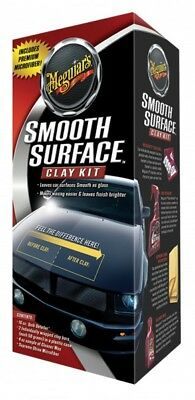 Meguiar´s Smooth Surface Clay Kit –G1016 Lackreinigungssystem Glatte Oberfläche