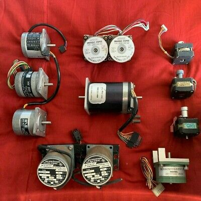 Lots Stepper Stepping Motor Slo Syn Synchronous Motore Passo Passo 12 Qty.