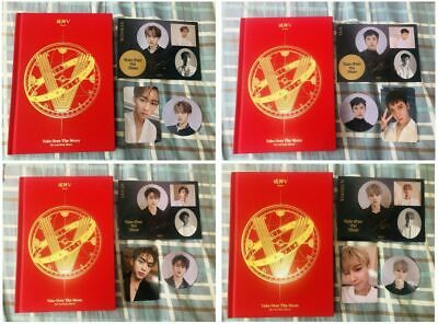 WAYV TAKE OVER THE MOON CHINESE ver. ALBUM PHOTOCARD STICKER SET ten lucas kun