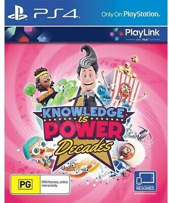 PS4 - Playlink - Knowledge is Power: Decades - Redeemable Code