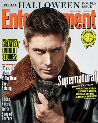 EW Entertainment Weekly NEW 2017 Halloween Supernatural Jensen Ackles Cover