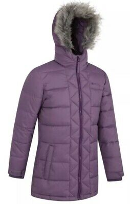 mountain warehouse sally youth padded jacket lilac Size 9-10 RRP£59.99 {Z89}
