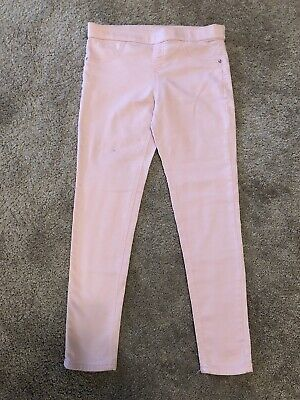 Justice Jeggings Jeans Leggings - Size 14 Plus - Pink - EUC - Free Shipping