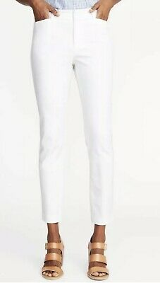 Old Navy Women's Mid Rise Pixie Ankle Pants Size 16 White Pockets Stretch NWT