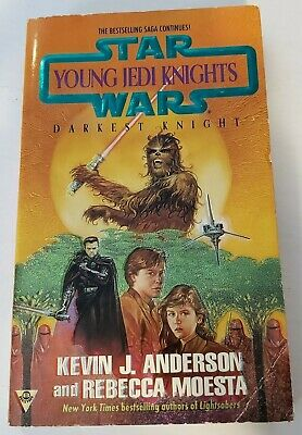 Star Wars Paperback Book: Young Jedi Knights Darkest Knight by Kevin J Anderson
