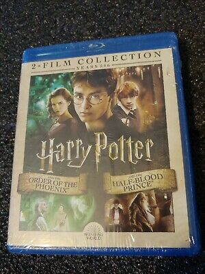 Harry Potter And The Order Of Phoenix / And The Half-Blood Prince Blu-ray Sealed