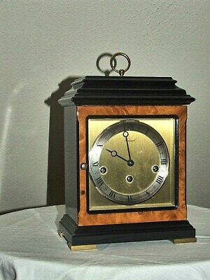 WARMINK Mantel Clock HIGH GLOSS MULTICOULOUR Westminster Chime Dutch,5 Hammers