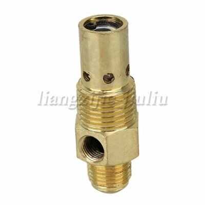 "G3/8"" Male Brass Air Compressor One Way Check Valve Female 1/2"" NPT Threaded"