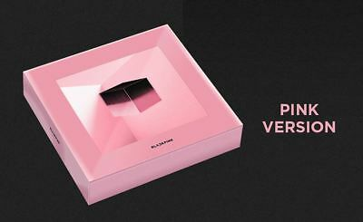 BLACKPINK 1st MINI ALBUM SQUARE UP PINK Ver. CD + 2 PHOTO CARD + POSTER IN TUBE