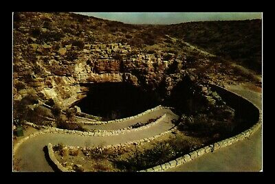 Us Postcard Entrance To Carlsbad Caverns National Park New Mexico