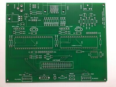 PCBs for P8X Game System