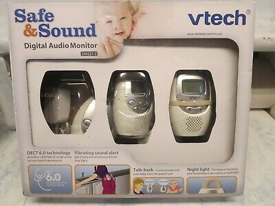 VTech Safe & Sound Digital AUDIO BABY MONITOR, Two Parent Units MONITOR, DM221-2