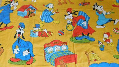 DONALD DUCK POSTERS FABRIC CP64407