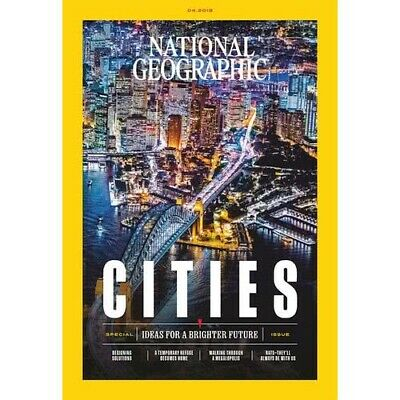 National Geographic Magazine 2019 April Vol235№4🌐The Cities Issue Walking Tokyo