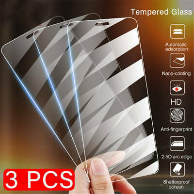 For iPhone 11 Pro X XS MAX XR 8 7 6 Screen Protector Tempered Glass Protection *