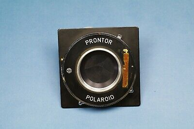 PRONTOR Polaroid Shutter and Aperture F 4.7 4x5 Copy Large Format GERMANY