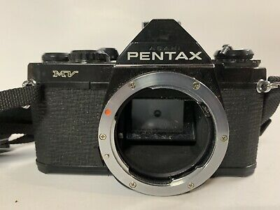 Asahi Pentax MV-1 MV1 35mm Film PK Lens Mount 35mm Film SLR Camera Japan Tested