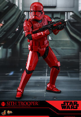 "Star Wars Rise of Skywalker Sith Trooper 12"" Hot Toys 1/6 Scale Figure [MMS544]"