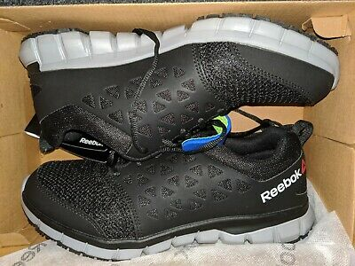 Reebok RB4016 Men/'s Sublite Cushion Athletic Oxford Steel Toe Safety Work Shoes