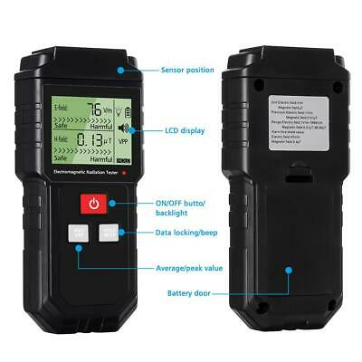 Electromagnetic Radiation Tester Electric Field Magnetic Field Dosimeter