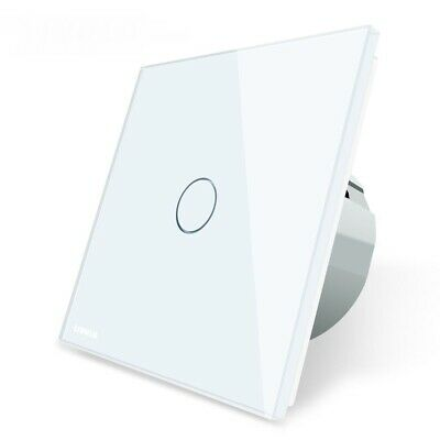 Sensor Switch Touch Light Power Crystal Glass Power Socket Wall Mount
