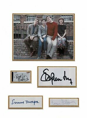 The Young Ones multi signed Scumbag & Footlights College 8 Signatures