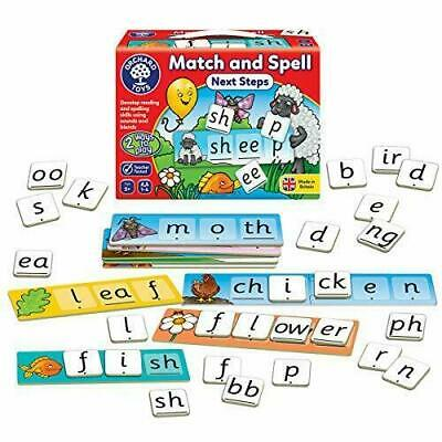 Match & Spell Educational Board Game Children Phonics Spelling Learning Reading