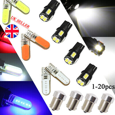 2V Car Bulbs LED Error Free Canbus SMD XENON White Side  Turn Tail Light Bright