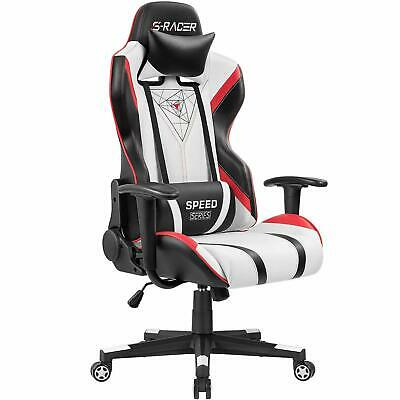 Homall Gaming Racing Office High Back PU Leather Computer Desk Executive and Erg