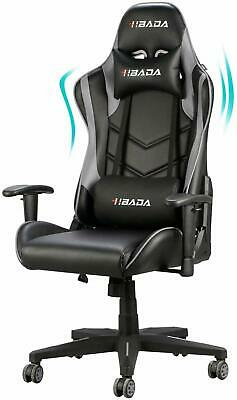 Hbada Gaming Chair Racing Style Ergonomic High Back Computer Chair with Height A