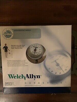 Welch Allyn DS44-11 DuraShock Bronze Series Aneroid Sphygmomanometer, Adult Size