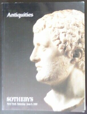 Auction Catalogue Sotheby's NY Antiquities June 5, 1999 Egyptian Greek Roman