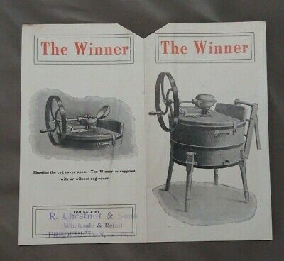 "1800's Ottawa Ontario Advertising Label The ""Winner""  J H Connor & Son Limited"