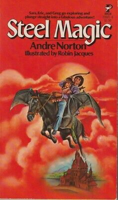 Andre Norton: Steel Magic. Pocket Arch 1978, 1st thus. Time Travel 850938