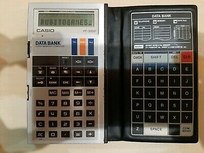 Casio Pf-3000 Data Bank
