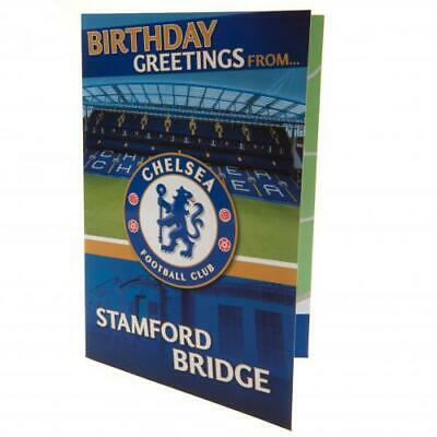 Chelsea FC Pop-Up Birthday Card (football club souvenirs memorabilia)